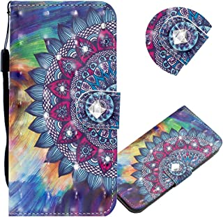 EMAXELER Galaxy A10S Case 3D Creative Pattern PU Leather Wallet Diamond Case Bookstyle Flip Stand Card Holder Shockproof M...
