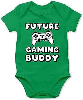 Shirtracer Sprüche Baby - Future Gaming Buddy - Baby Body Kurzarm für Jungen und Mädchen