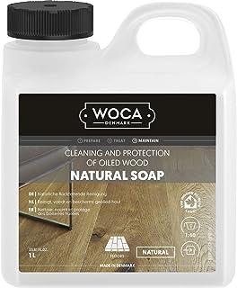 Woca 511050A houten vloerzeep, natuurlijk, 5 l
