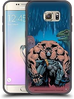 Head Case Designs - Carcasa para teléfono móvil con diseño de Batman DC Comics, compatible con Compatibilité: Samsung Galaxy S7 edge