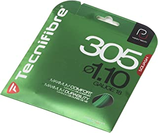 Tecnifibre 305 1.10 (18 Gauge) Green Squash String Set