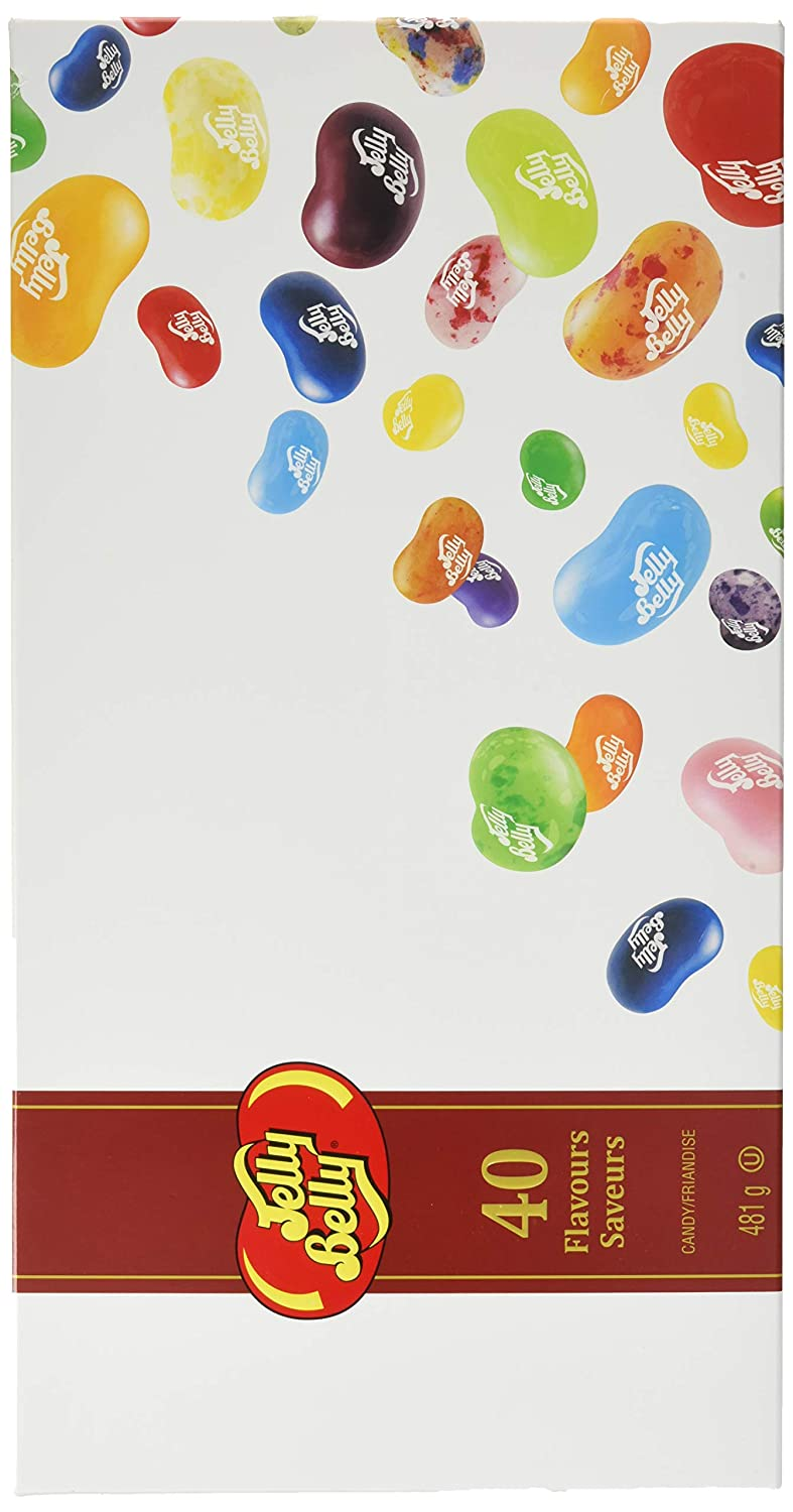Jelly Belly Rapid rise Minneapolis Mall Beans GiftBox Flavors 17-oz 40