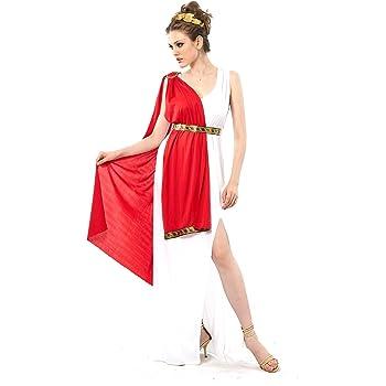 Disfraz de diosa romana para mujer - S: Amazon.es: Juguetes y juegos
