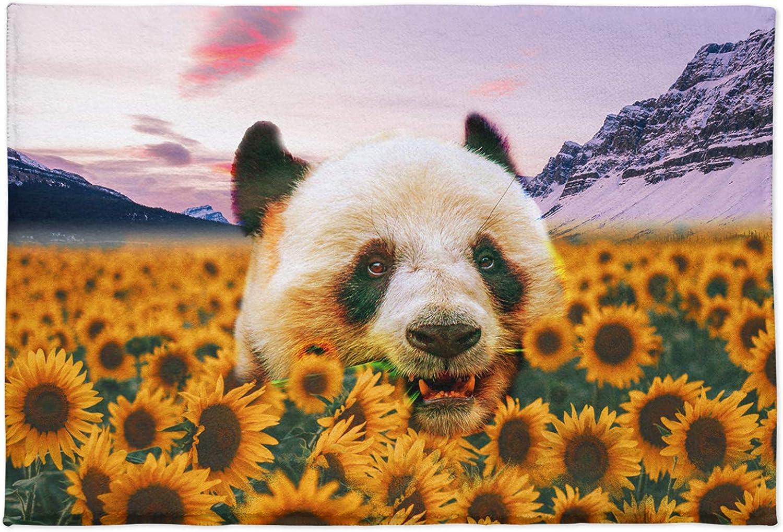 Doormat Cute Panda Fuzzy Rug Soft Mat Anim Funny Microfiber A surprise price is realized Bath Oklahoma City Mall