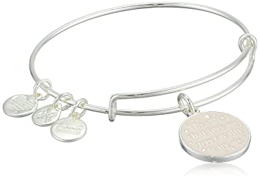 Alex and Ani Womens Harry Potter The Ones That Love Us Bangle Bracelet