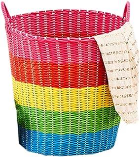Basket Handmade Wicker For Woven Women Basket Bicycle And Summer Men Plastic