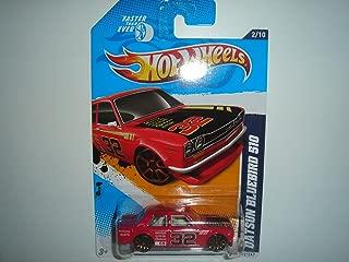 Hot Wheels Datsun Bluebird 510 Red 2012 Faster Than Ever Card 92