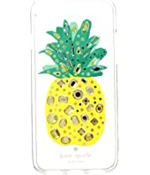 Kate Spade New York - Jeweled Pineapple Phone Case for iPhone 8