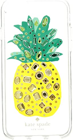 Jeweled Pineapple Phone Case for iPhone 8