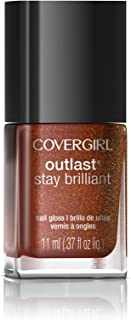 COVERGIRL Outlast Stay Brilliant Nail Gloss Rogue Red 65 0.37 Fl Oz