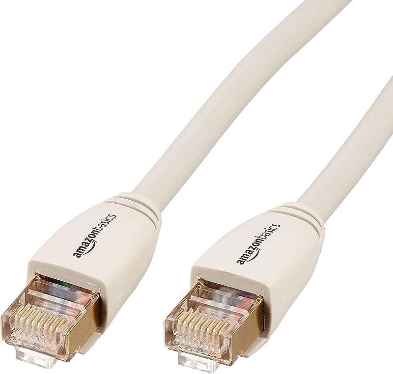 AmazonBasics RJ45 Cat7 Network Ethernet Patch Internet Cable 3 Feet
