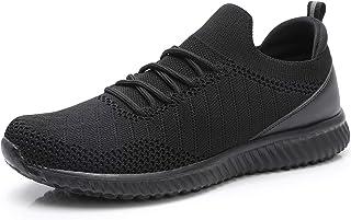 Walking Shoes for Women - Slip on Memory Foam Lightweight Sneakers
