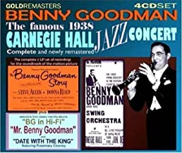 Best benny goodman live at carnegie hall Reviews