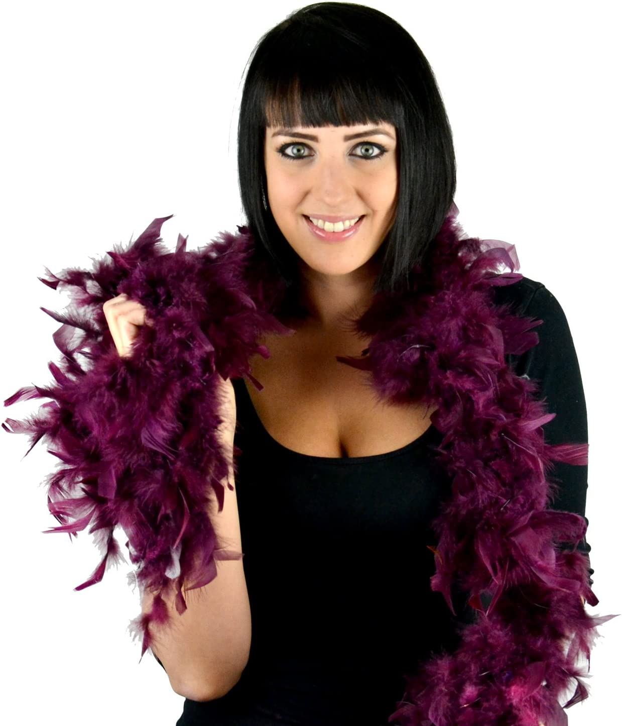 Touch of Nature 1-Piece 2-Yard Limited time cheap sale Feather Flat Chandelle Turkey Ranking TOP4 Boa