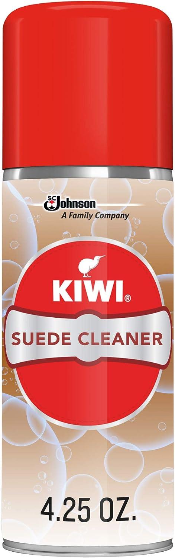 KIWI Suede & Nubuck Cleaner, 4.25 oz (1 Aerosol Spray)