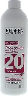 Redken Pro-Oxide Cream Developer 20 Volume Treatment for Unisex, 16.9 Ounce