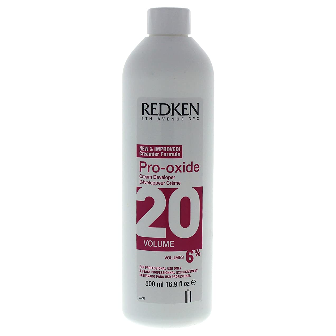 失われた桁静的Pro-Oxide Cream Developer 20 Volume