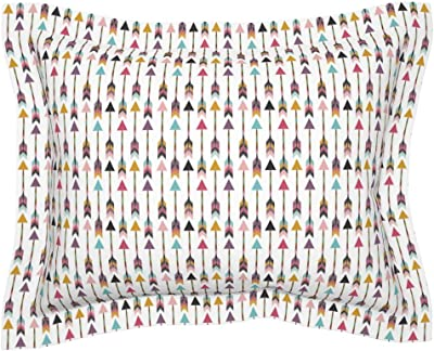 Amazon.com: Roostery Smuk Flanged Pillow Sham Donkey Love ...