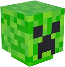 Minecraft Creeper Light Up Figure - Paladone Table Light with Zombie Sounds