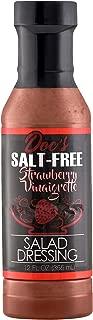 Doc's Salt Free All Natural Salad Dressing | Marinade - Strawberry Vinaigrette