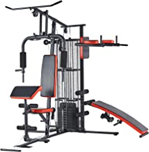 BalanceFrom-Home-Gym-System Workout-Station with 380LB of Resistance, 145LB-Weight Stack, Comes with Installation Instruct...