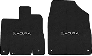 Lloyd Mats LogoMat Custom Floor Mats for Acura MDX 2014 - ON 2Pc Front Set, Charcoal Carpet Mats
