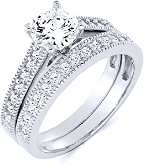Best 2 piece engagement rings Reviews