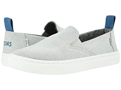 TOMS Kids Luca (Little Kid/Big Kid) (Drizzle Grey Repreve Melange Knit) Boy