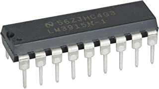 Texas Instruments LM3915N-1 LED Bar, Display Driver, 3dB/Step, 10 Segment (Pack of 2)