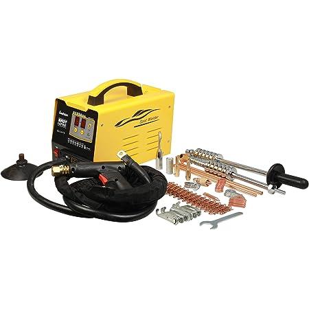 ourantools 110V Car Body Stud Welder Dent Repair Kit with Spot Dent Puller, 7 Modes 3KW Spot Welding Machine