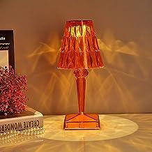 SHJKL LED Kryształowa lampa stołowa, kreatywne dekoracje światło biurko, USB Ładowanie nocne światło, wspaniała lampa atmo...