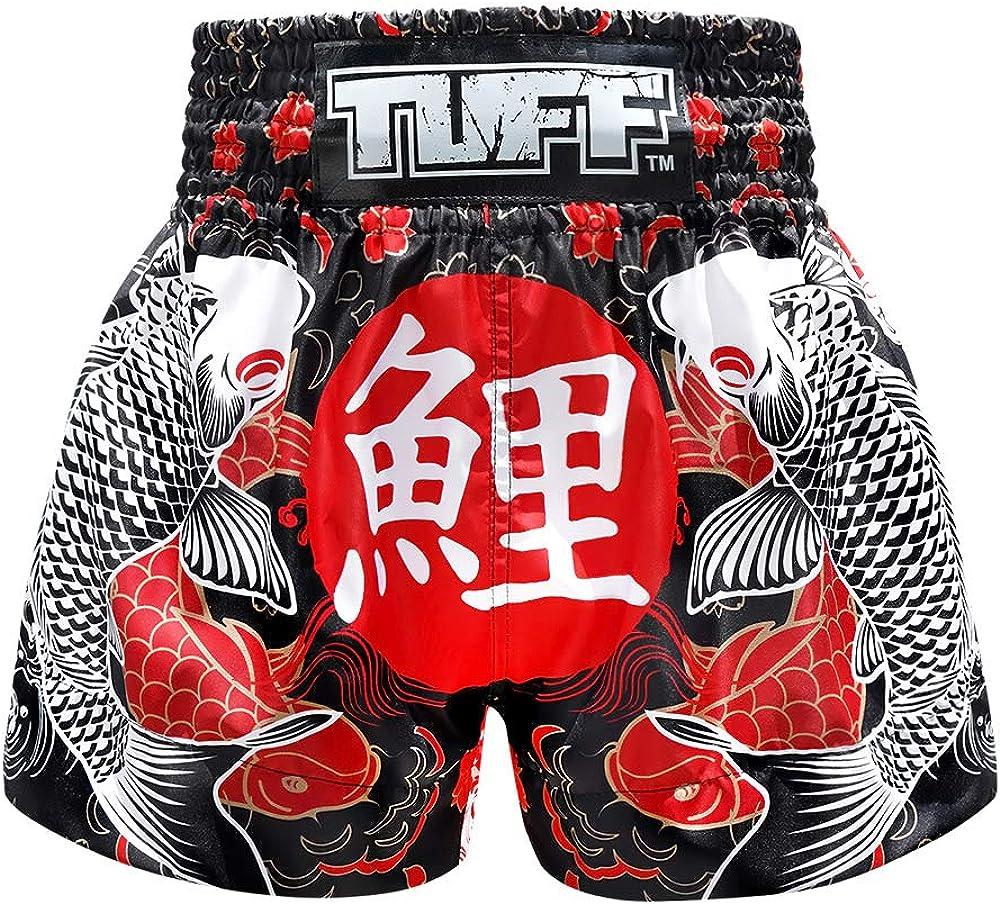 Tuff Luxury goods Boxing Sport Muay Thai Shorts Martial 5 ☆ very popular Trai Kick Trunks Arts