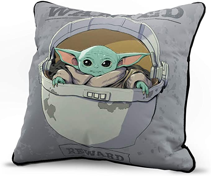 Measures 62 x 90 inches Kids Bedding Features The Child Baby Yoda Official Star Wars Product Fade Resistant Super Soft Fleece Jay Franco Star Wars The Mandalorian Curious Child Blanket