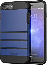 iPhone 8 Plus Case, iPhone 7 Plus Case, Crave Strong Guard Protection Series Case for Apple iPhone 8/7 Plus (5.5 Inch) - Navy