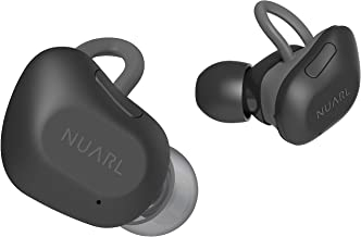 NUARL True Wireless Stereo Earphones Earbuds Bluetooth5 Sound HDSS 5 hr Playback Light Weight IPX4 with Microphone NT01B-MB Matte Black【Japan Domestic Genuine Products】