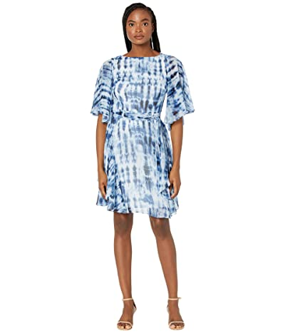 LAUREN Ralph Lauren Mandie Elbow Sleeve Day Dress Women