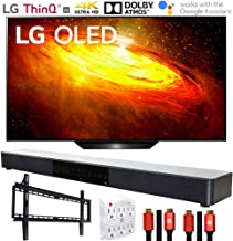 "LG OLED55BXPUA 55"" BX 4K OLED TV AI ThinQ (2020) with Deco Gear Soundbar Bundle"