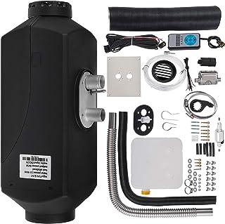 VEVOR podgrzewacz powietrza na olej napędowy, ogrzewanie postojowe 12 V, 5 KW, ogrzewanie elektryczne do samochodów kempin...