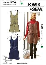 Kwik Sew K3530 Romper and Jumper Sewing Pattern, Size XS-S-M-L-XL