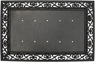 Evergreen Decorative Rubber Door Mat Frame Base