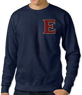 NINJOE Men's Elon University - E Logo Classic Long Sleeve Tee Navy