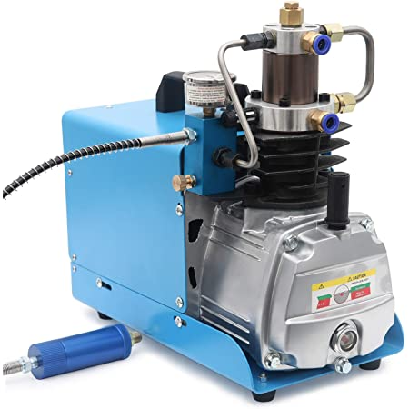 4500PSI Electric AutoShut Air Compressor Pump Inflation Pump Water Air Cooled