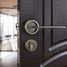 Amerikaanse Slaapkamer Deurklink Lock Beveiliging Entry Split Silent Lock Core Deur Meubels Indoor Deurklink Lockset