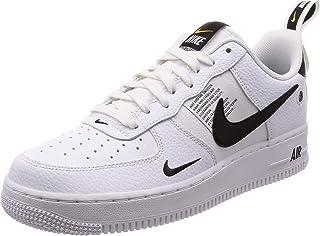 396ec2ab47707 Nike Men's Air Force 1 07 LV8 Utility, White/White-Black-Tour