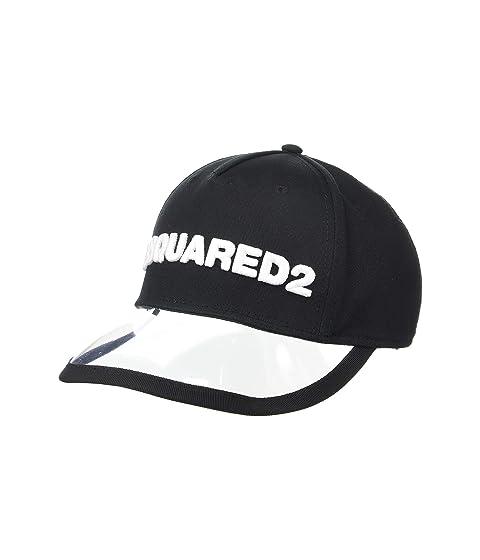 DSQUARED2 Cotton/PVC Baseball Cap
