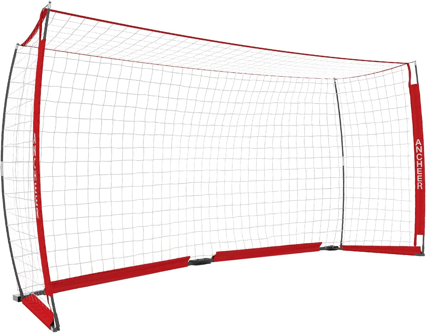 ANCHEER Portable Soccer Goal Net for Kids/Adults - Quick Set-Up Soccer Net for Backyard(12 x 6 ft) : Sports & Outdoors