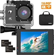 WiMiUS 4K WiFi Sports Action Camera Ultra HD Waterproof DV Camcorder 12MP Underwater 170 Degree Wide Angle