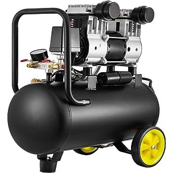 STAHLWERK ST 358 pro - Compresor de aire a presión (caldera de 35 L, 8 bar, sin aceite, 140 L/min, muy silencioso, compacto, 5 años de garantía), color blanco: Amazon.es: Bricolaje y herramientas
