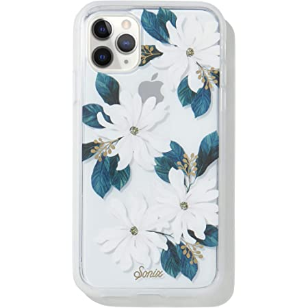 Sonix Delilah Flower Case for iPhone 11 Pro [10ft Drop Tested] Protective White Floral Clear Case for Apple iPhone 11 Pro