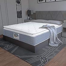 Spring Air_ Ortopedic, Colchón King Size con Box 80top + 2 Almohadas de Regalo